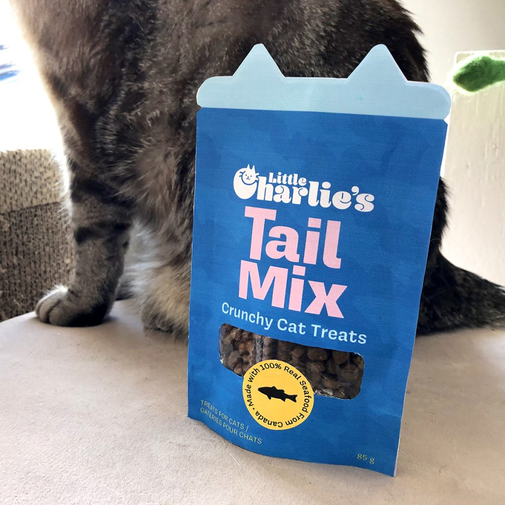 Cat Treats Package Design by Taylor Krulick