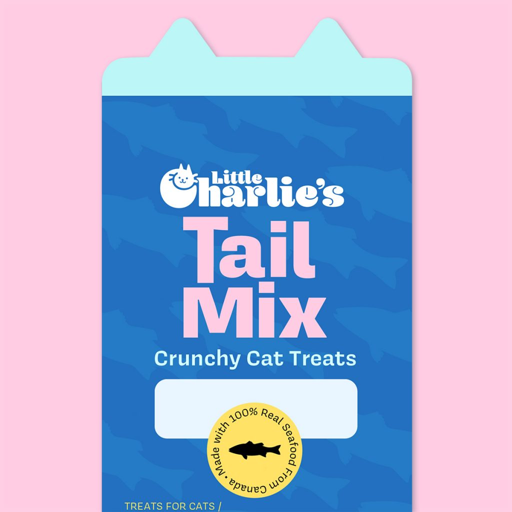 Package Design Cat Treats by Taylor Krulicki