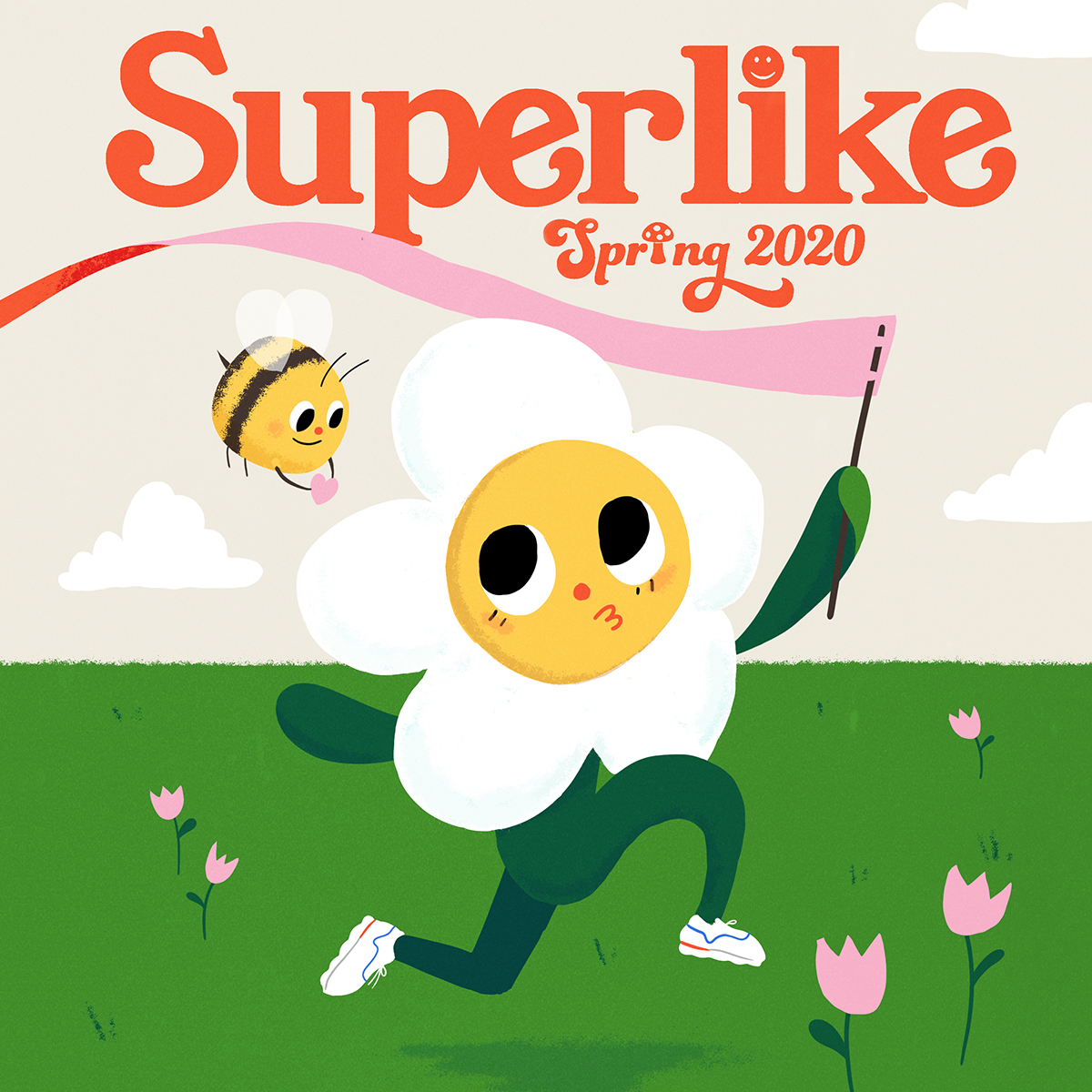 Illustration Cover for Superlike Magazine by Taylor Krulicki