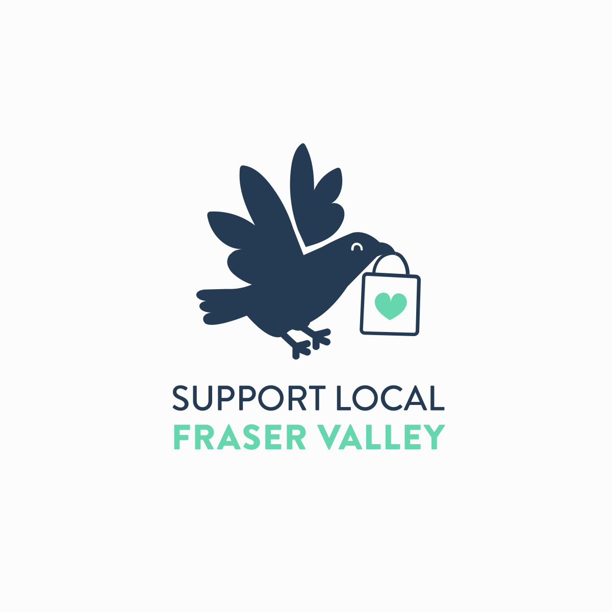 Support Local Fraser Valley Logo by Taylor Krulicki