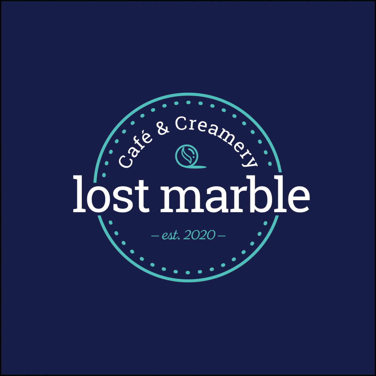 Lost Marble Creamery Logo by Taylor Krulicki
